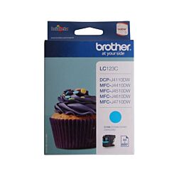 Brother LC123 Ink Colour Cartridge Cyan