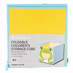 Ryman Childrens Storage Cube Frog