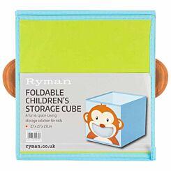 Ryman Childrens Storage Cube Monkey