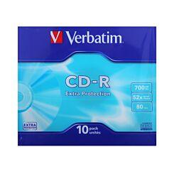 Verbatim CD-R Slim Case 52X Pack of 10