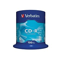 Verbatim CD-R 52x Spindle Pack of 100