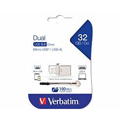 Verbatim 32GB Micro Dual Drive USB 3.0