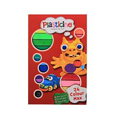 Plasticine Max Set 24 Colours
