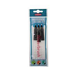 Derwent Waterbrush Pack 3