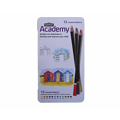Derwent Academy Colouring Pencils Pack of 12