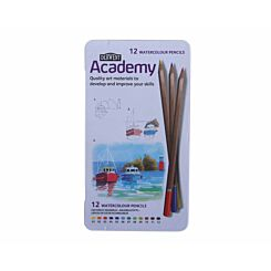 Derwent Academy Watercolour Pencils  Pack of 12