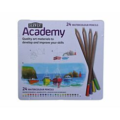 Derwent Academy Watercolour Pencils  Pack of 24