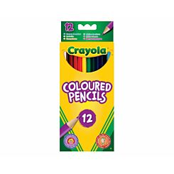 Crayola Coloured Pencils Pack of 12