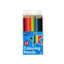 Ryman Colouring Pencil Pack of 12