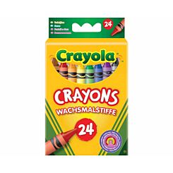 Crayola Wax Crayons Pack of 24