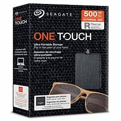 Seagate One Touch Portable SSD 500GB Black