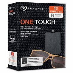 Seagate One Touch Portable SSD 1TB Black