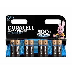 Duracell Duralock  Ultra Power AA Pack of 8