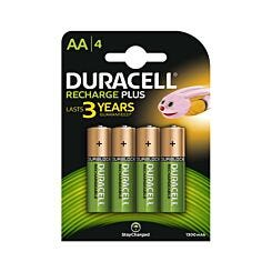 Duracell Rechargeable AA Pack of 4
