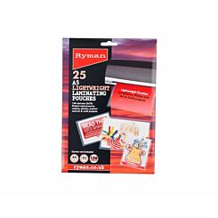 Ryman Laminating Pouches A5 150 Micron Pack of 25