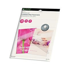 Leitz iLam Premium Laminating Pouches with UDT A3 125 Microns Pack of 25