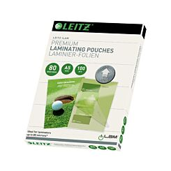 Leitz iLam Premium Laminating Pouches with UDT A5 80 Microns Pack of 100