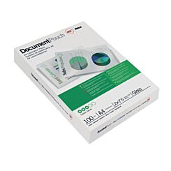 GBC Laminating Pouches A4 75 Micron Pack of 100