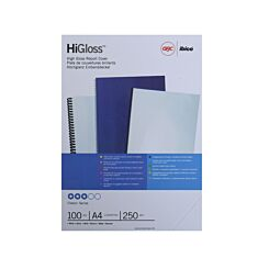 Rexel Binding Covers A4 Gloss Finish Pack of 100