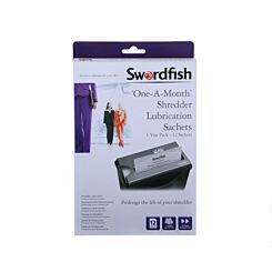 Swordfish Shredder Lubrication Pack of 12