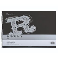 Ryman Sketch Pad A3 200gsm 60 Pages 30 Sheets