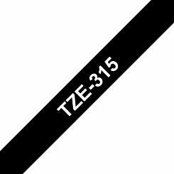 Brother TZE315 Tape White/Black