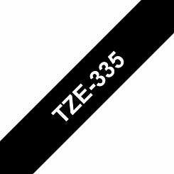 Brother TZE335 Tape White/Black