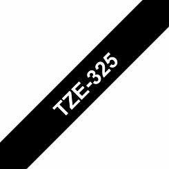 Brother TZE325 Tape  White/Black