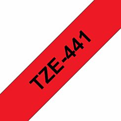 Brother TZE441 Tape Black/Red