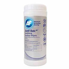 Anti-bac Plus Sanitising Surface Wipes Pack of 50