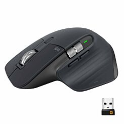 Logitech MX Master 3 Wireless Mouse with Hyper-fast Scroll