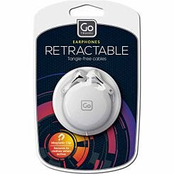 Go Travel Retractable In-Ear Headphones