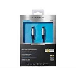 Vivanco Premium Fibre Optic Connection Cable 3M