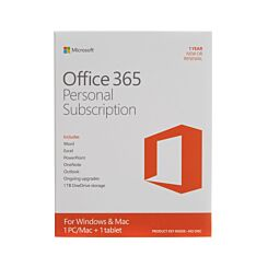 Microsoft Office 365 Personal 32/64 bit 1 Year