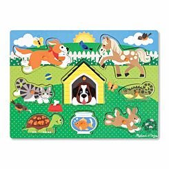 Melissa and Doug Peg Puzzle Assorted
