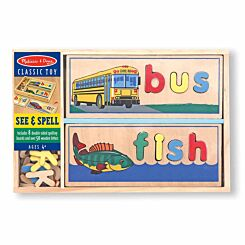 Melissa and Doug Classic See and Spell
