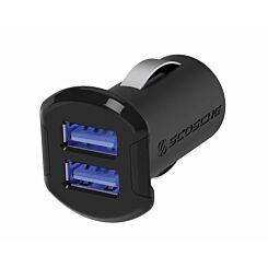 Scosche ReVolt Dual Port USB Car Charger