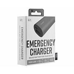 Kit Premium Emergency Charger 3000mAh