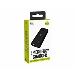 Kit Emergency Charger 4000mAh