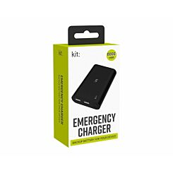 Kit Emergency Charger 6000mAh
