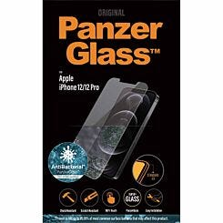 Panzer Glass Antibacterial Screen Protector for iPhone 12/12 Pro