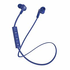 MIXX Audio Play Wireless Earphones with In-Line Mic Blue