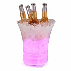 Intempo Ice Bucket Bluetooth Speaker with Multi Colour LED Lights