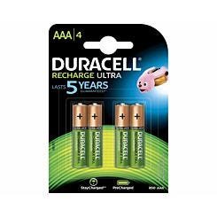 Duracell Recharge Ultra AAA Batteries Pack of 4
