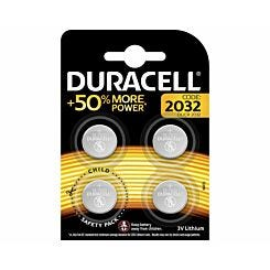 Duracell 2032 Batteries Pack of 4