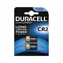 Duracell CR2 Batteries Pack of 2