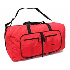 Members by Rock Large Ultra Lightweight Foldaway Holdall Red