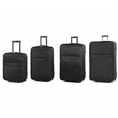Members by Rock Topaz Lightweight Expandable Two Wheel Luggage Set of 4