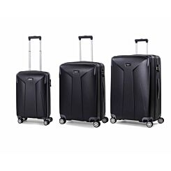 Rock Leon Hardshell Spinner Suitcase 3 Piece Set