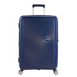 American Tourister Soundbox Medium Spinner Suitcase Midnight Navy